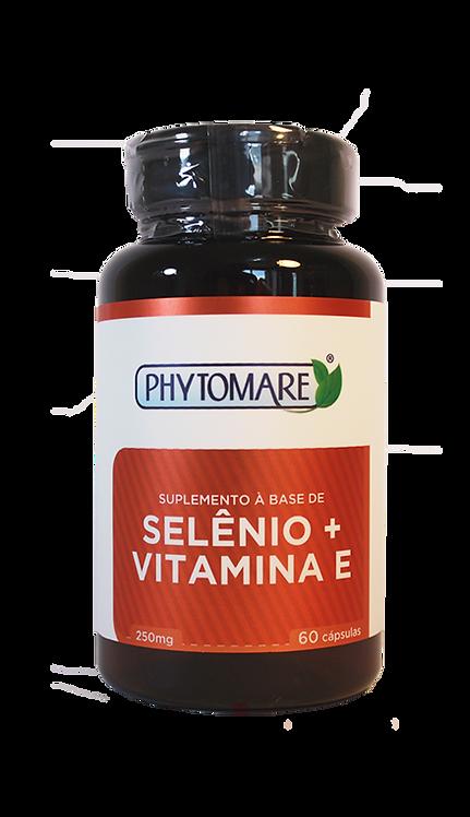Selênio + Vitamina E 250mg (60 CAPS)