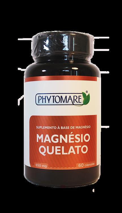 Magnésio Quelato 650mg (60 CAPS)