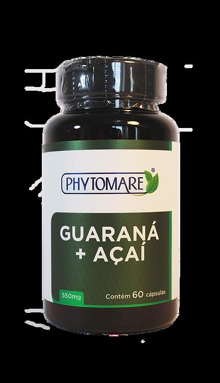 Guaraná e Açaí 550mg (60 CAPS)