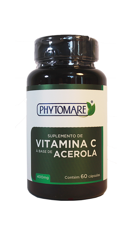 Acerola 400mg (Vitamina C)  (60 CAPS)