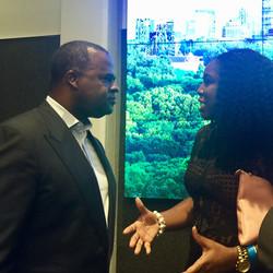 Mayor Reed and Dr. Ajala