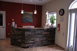 Boarding/Grooming Reception Area