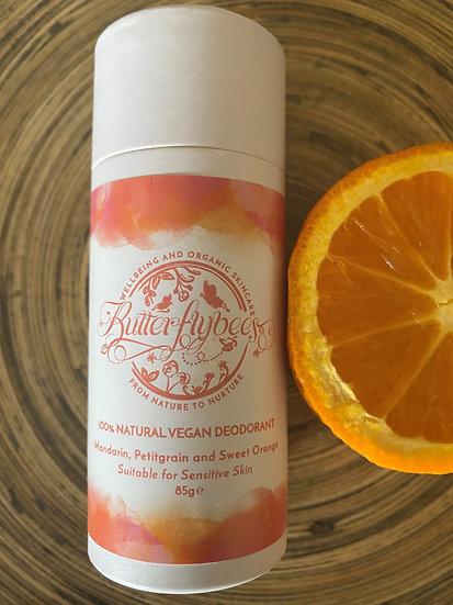 Mandarin, Petitgrain & Sweet Orange Deodorant