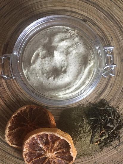 Organic Mandarin Green Tea Exfoliating Face Mask