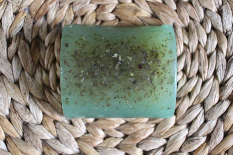 Organic Grapefruit, Lemon and Seaweed Exfoliating Soap