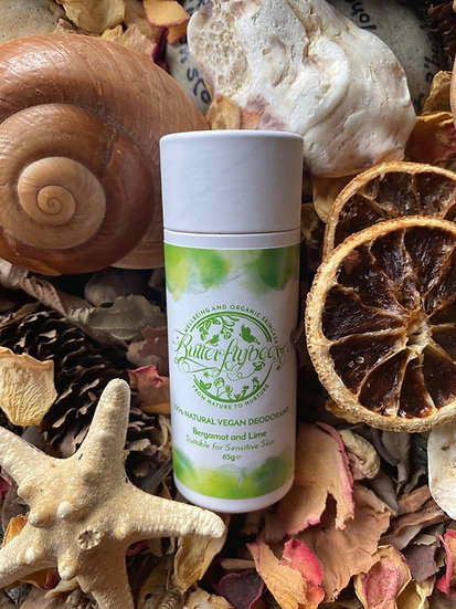 Bergamot & Lime Deodorant