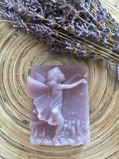 Organic Lavender and Cornflower Soap