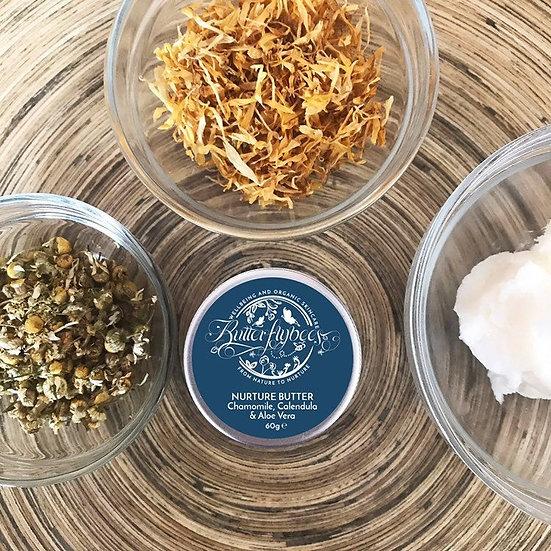 Camomile, Calendula and Aloe Face and Body Nurture Butter