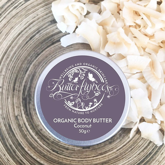 Organic Double Whipped Coconut Body Butter