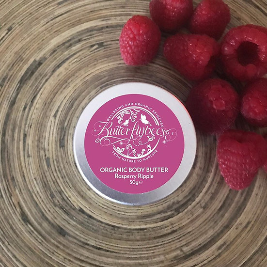 Organic Double Whipped Raspberry Ripple Body Butter