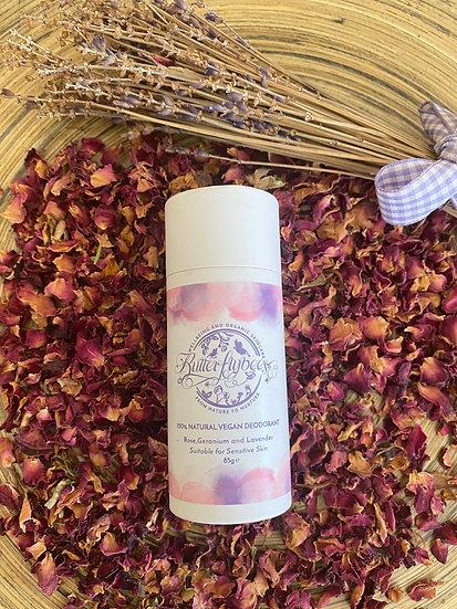 Rose Geranium & Lavender Deodorant