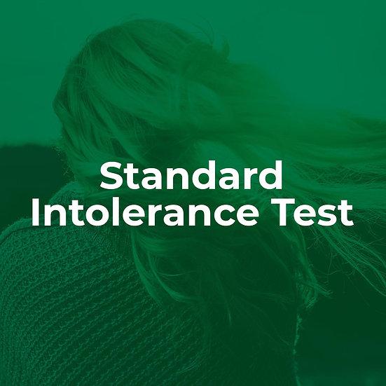 Standard Intolerance Test