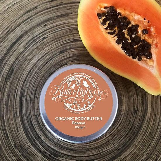 Organic Double Whipped Papaya Body Butter