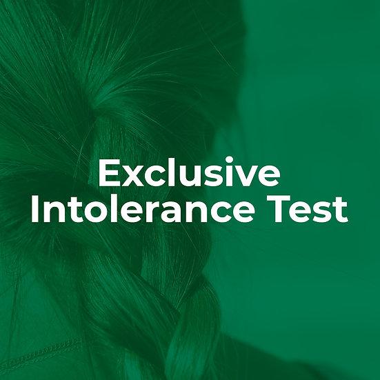 Exclusive Intolerance Test