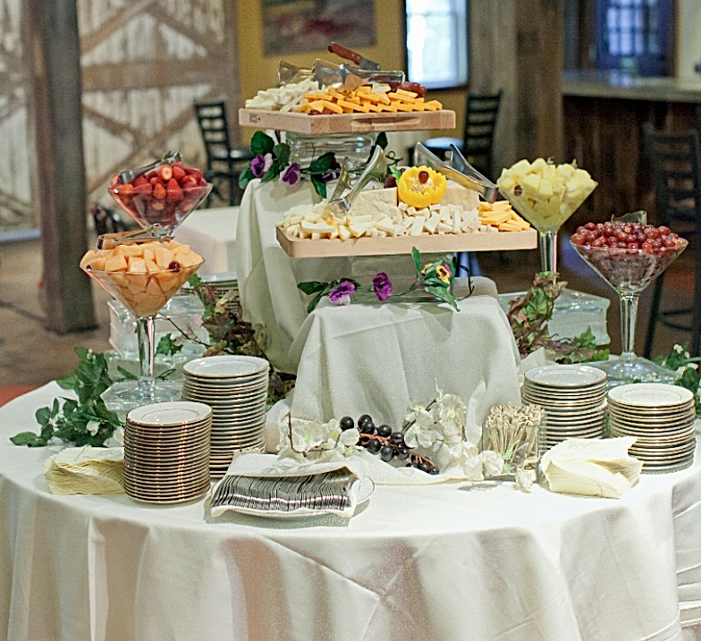 Fruit Cheese Table