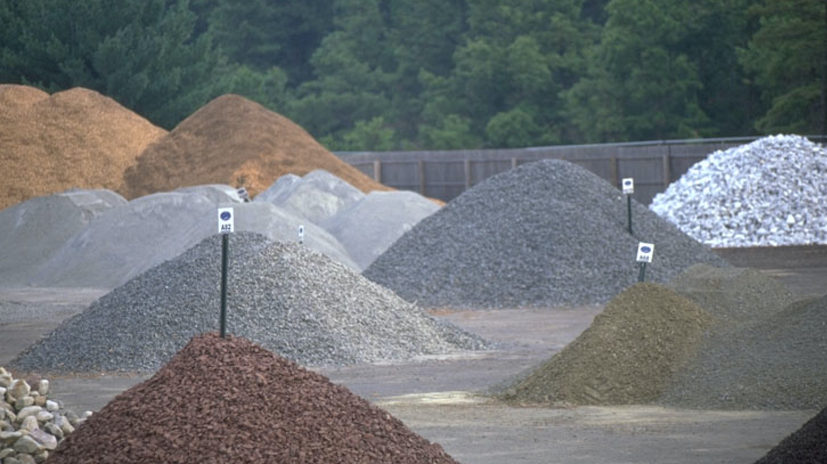 STONE CRUSHED STONE GRAVEL LANDSCAPE MATERIALS
