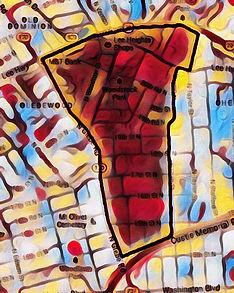 Waverly Hills Neighborhood Map