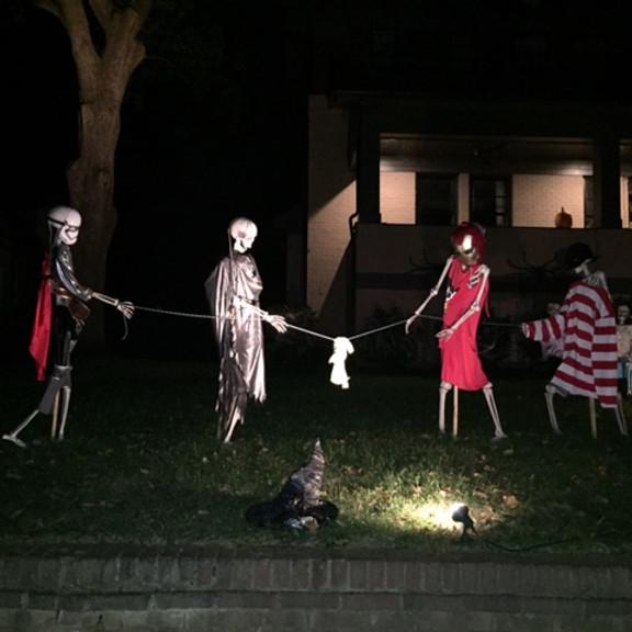WHCA Halloween Decor Contest