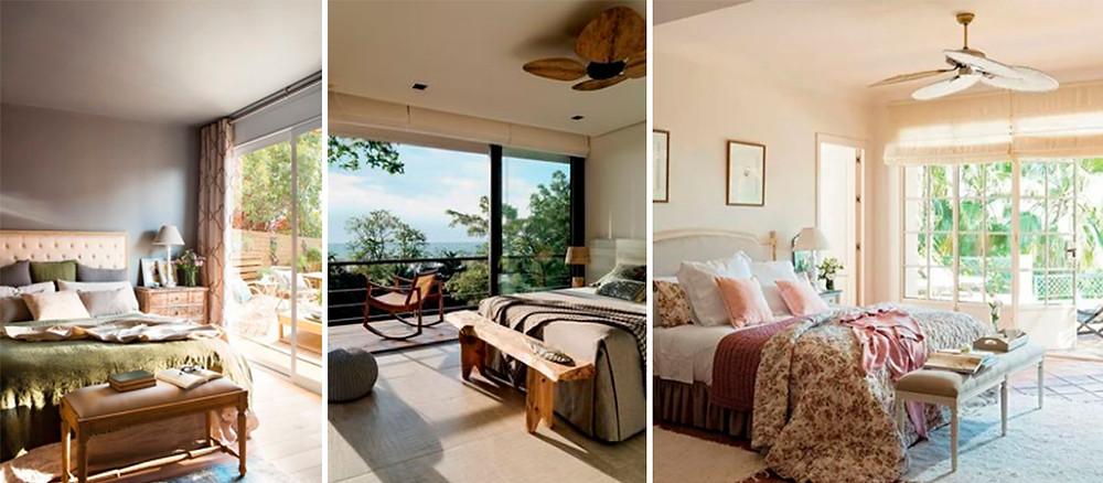 Dormitórios na Fachada Leste. Fonte:Pinterest.