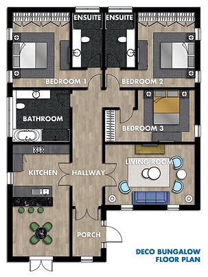 decobungalow floor plan