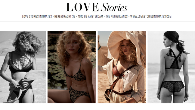 WHAT WE LOVE: LOVE STORIES brand story