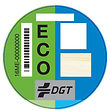 distintivo eco, furgoneta eco, vehículo comercial eco