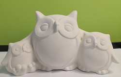 Owls Money Box