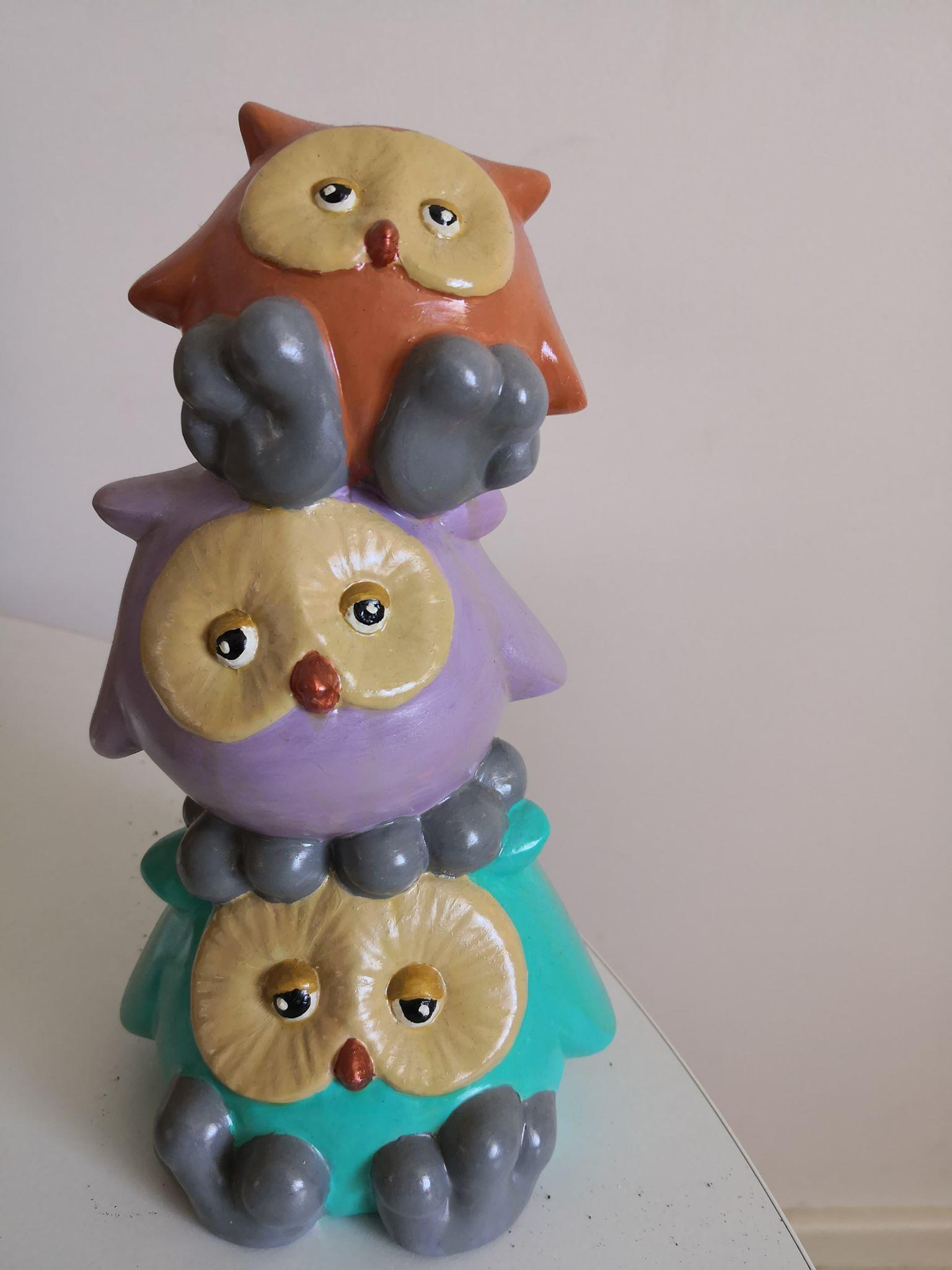 Owls money box