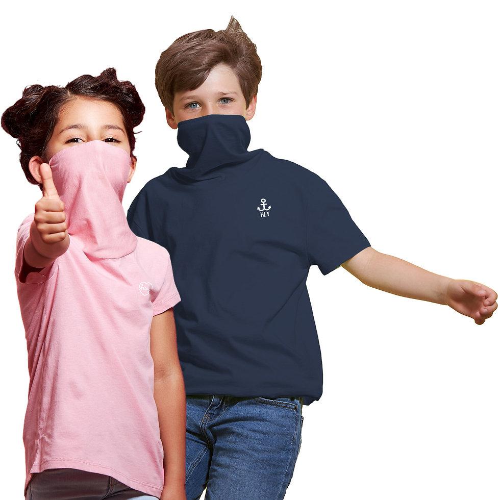 monocs® - Two kids making thumbs up.