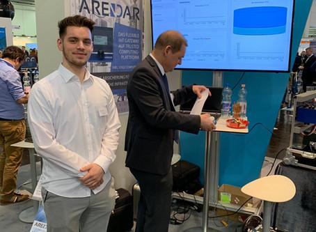ARENDAR sorgt für Ansturm auf der E-World 2020 in Essen