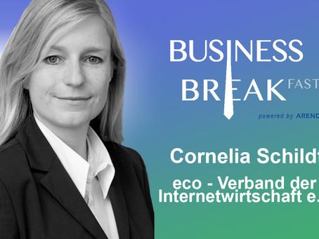 Unsere 6. Sprecherin steht fest: Cornelia Schildt!