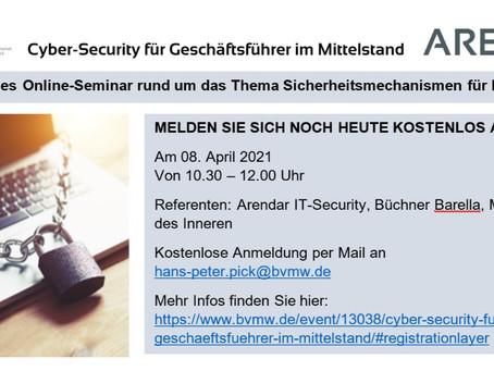 Cyber-Security für Geschäftsführer im Mittelstand