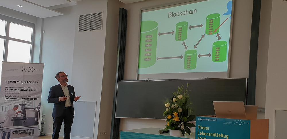 Markus Jostock, Vortrag Blockchain, Arend
