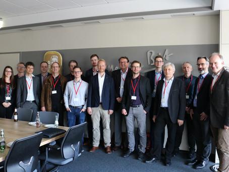 Arbeitskreis trifft sich zum Thema Data Mining bei der Bitburger Braugruppe