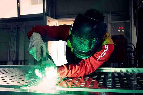 Arbeiten in der Industrie