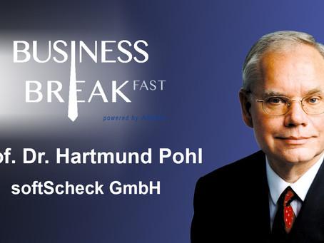 Sprechervorstellung Prof. Dr. Hartmut Pohl