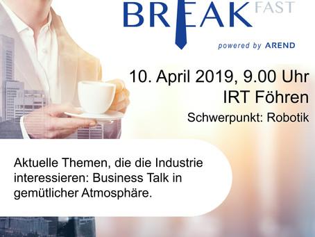 2. Business Breakfast Veranstaltung