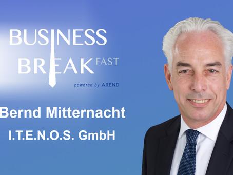 Zweiter Sprecher auf dem Business Breakfast Trier, 25.09.2019