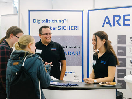 Arend auf der Firmenkontaktmesse Trier