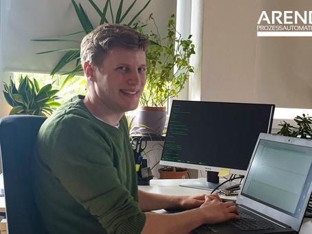 Masterarbeit bei Arend schreiben - Markus berichtet von seiner Erfahrung