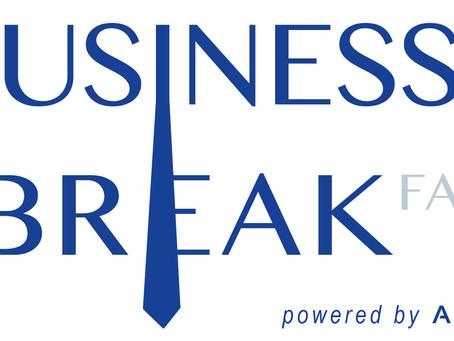 Programm zum 1. Business Breakfast am 07.02.2019