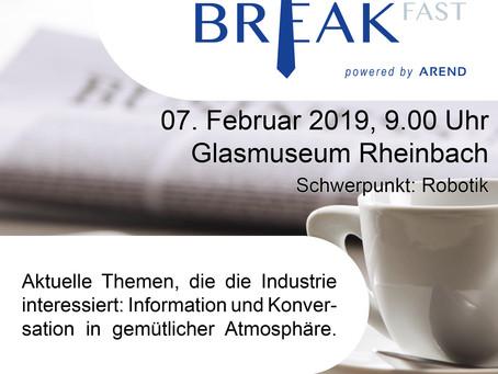 1. Arend Business Breakfast Veranstaltung