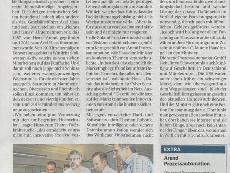 Artikel im Trierischen Volksfreund