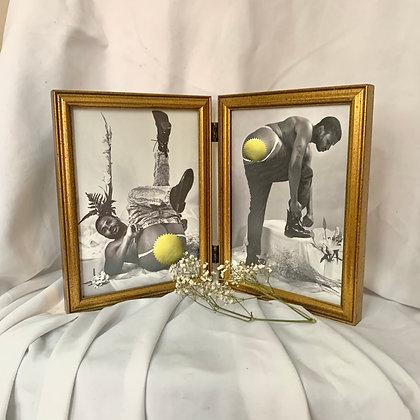 BENRY #34 & #35 (2 - 5x7in) framed