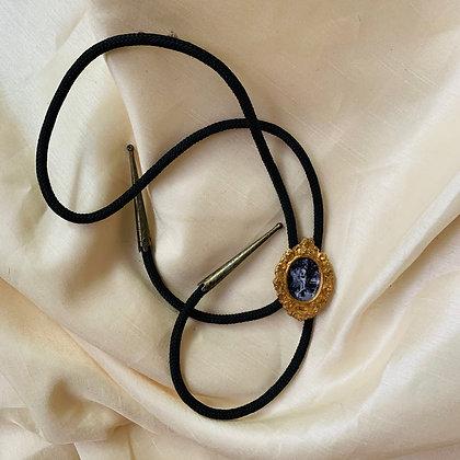 Benry #34 as Custom Bolo Tie - Gold