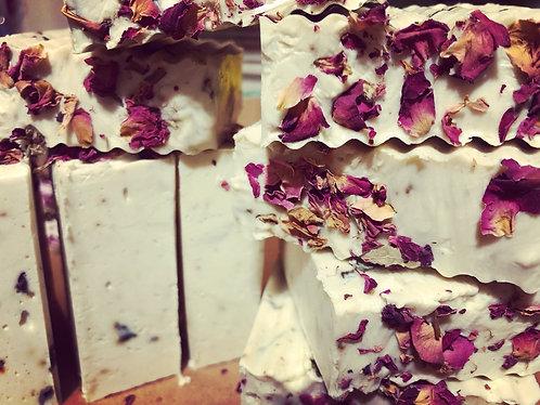 Rose Geranium + Lemon Verbena