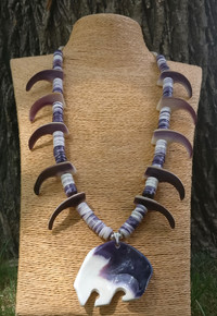 Wampum Bear Honoring