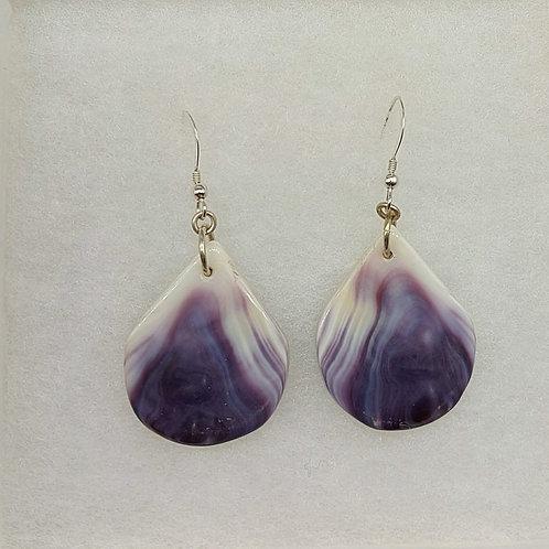 Purple Tear drops