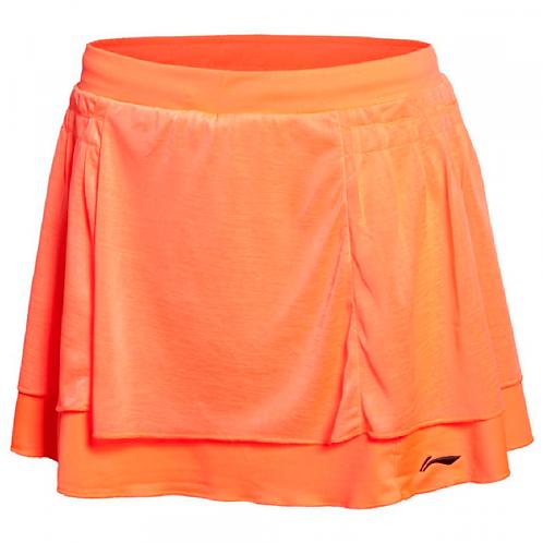 Li-Ning Badminton/ Tennis Skirt Bright Orange