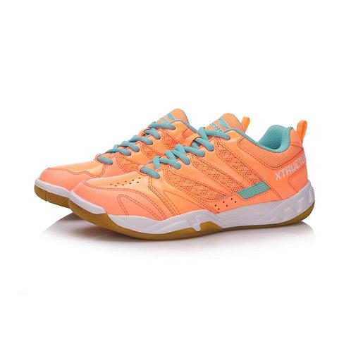 Li-Ning Xtructure Badminton Training Shoes Orange Women's